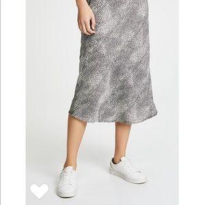 Re-named Midi Skirt Leopard, Small